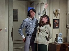 Mike Nesmith, Ellen Farnsby (Susan Browning)