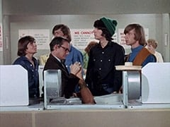 Davy Jones, Wally Cox, Micky Dolenz, Mike Nesmith, Peter Tork