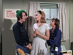 Mike Nesmith, April Conquest (Julie Newmar), Davy Jones