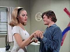 April Conquest (Julie Newmar), Micky Dolenz