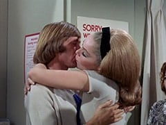 Peter Tork, April Conquest (Julie Newmar)