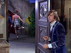 April Conquest (Julie Newmar), Peter Tork