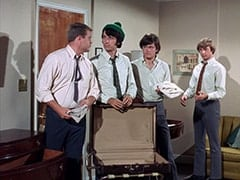McKinley Baker (Dick Anders), Mike Nesmith, Micky Dolenz, Peter Tork
