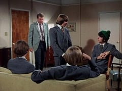 Micky Dolenz, McKinley Baker (Dick Anders), Davy Jones, Peter Tork, Mike Nesmith