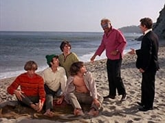 Peter Tork, Mike Nesmith, Davy Jones, Micky Dolenz, Luther Kramm (Jerry Lester), Philo (Hamilton Camp)