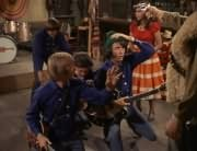 Davy Jones, Peter Tork, Micky Dolenz, Mike Nesmith, Angelita (Cynthia Hull)