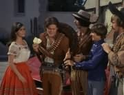 Angelita (Cynthia Hull), Micky Dolenz, Mike Nesmith, Davy Jones, Peter Tork