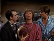 Henry Weatherspoon (George Furth), Peter Tork, Davy Jones