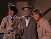 Mike Nesmith, T.N. Crumpets (William Glover), Peter Tork