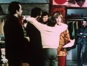 James Frawley, Mike Nesmith, Micky Dolenz, Davy Jones, Peter Tork, Artie (Art Lewis)