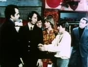 James Frawley, Mike Nesmith, Micky Dolenz, Peter Tork, Davy Jones, Artie (Art Lewis)