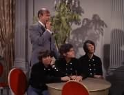 Latham (Milton Frome), Davy Jones, Micky Dolenz, Mike Nesmith