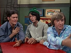 Micky Dolenz, Mike Nesmith, Peter Tork