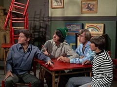 Micky Dolenz, Mike Nesmith, Peter Tork, Peter Tork, Davy Jones