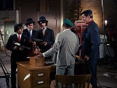 Davy Jones, Micky Dolenz, Mike Nesmith, J. L. (Cliff Norton), Harvey (Jonathan Harper)