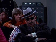 Micky Dolenz, Peter Tork, Unamused Movie-goer (?)