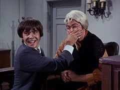 Davy Jones, Micky's Mother (Micky Dolenz)