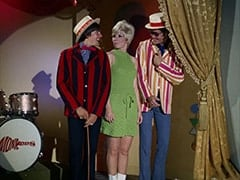 Davy Jones, Cuddly Toy Dancer (Anita Mann), Micky Dolenz