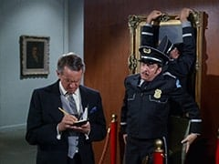 Curator (Arthur Malet), Duce (Monte Landis), Chuche (Vic Tayback)