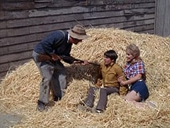 Paw Chubber (Dub Taylor), Davy Jones, Ella Mae Chubber (Melody Patterson)