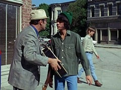 Leonard Sheldon (Don Sherman), Mike Nesmith, David Price