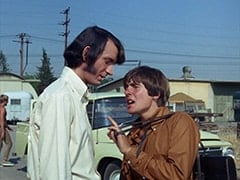 Goateed Extra, Mike Nesmith, Davy Jones