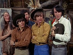 Kimba (Burt Mustin), Davy Jones, Micky Dolenz, Peter Tork, Mike Nesmith