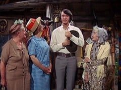 Aunt #2 (?), Aunt #1 (?), Mike Nesmith, Aunt #3 (?)