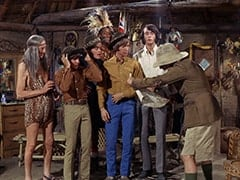 Kimba (Burt Mustin), Davy Jones, Micky Dolenz, Thursday (Rupert Crosse), Peter Tork, Mike Nesmith, Pshaw (Monte Landis)