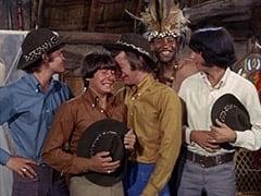 Micky Dolenz, Davy Jones, Peter Tork, Thursday (Rupert Crosse), Mike Nesmith