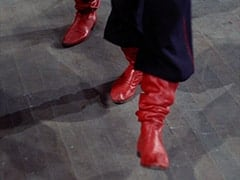 """Card Carrying Red Shoes"""