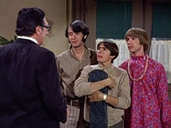 Blauner (Henry Corden), Mike Nesmith, Davy Jones, Peter Tork