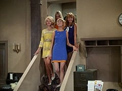 Queenie (Corinne Cole), Jan (Christine Williams), Nan (Carol Worthington), Ann (Ginny Gan)