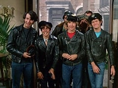 Mike Nesmith, Davy Jones, Big Frank (?), Peter Tork, Butch (Norman Grabowski), Micky Dolenz