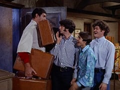 Boris (Mickey Morton), Mike Nesmith, Davy Jones, Micky Dolenz