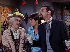 Mildred Weatherspoon (Ruth Buzzi), Davy Jones, Henry Weatherspoon (George Furth)