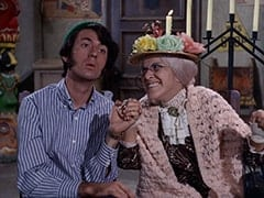 Mike Nesmith, Mildred Weatherspoon (Ruth Buzzi)