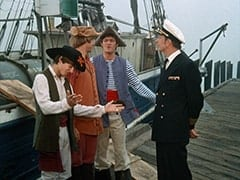 Davy Jones, Peter Tork, Micky Dolenz, Mayberry (Leslie Randall)