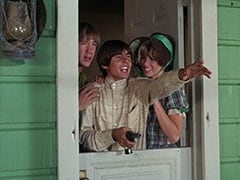 Peter Tork, Davy Jones, Cousin Lucy (Bonnie Dewberry)