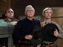 Red (Len Lesser), Black Bart (Barton Mac Lane), Sneak (Rex Holman)