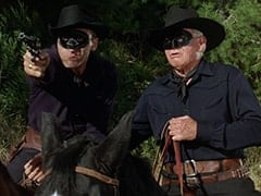 Red (Len Lesser), Black Bart (Barton Mac Lane)