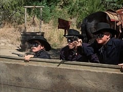 Sneak (Rex Holman), Red (Len Lesser), Black Bart (Barton Mac Lane)