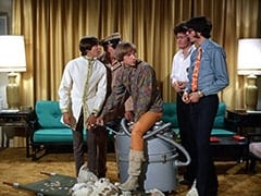 Davy Jones, Biggy (Pepper Davis), Peter Tork, Micky Dolenz, Mike Nesmith