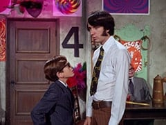 Melvin (Butch Patrick), Mike Nesmith, Mr. Schneider