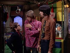 Melvin (Butch Patrick), Peter Tork, Mike Nesmith