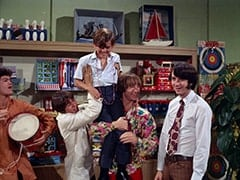 Micky Dolenz, Davy Jones, Melvin (Butch Patrick), Peter Tork, Mike Nesmith