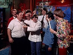 Pat Blymyer, Dick Singer, Irving Lippman, Micky Dolenz, Davy Jones, Mike Nesmith, Gene Ashman, Peter Tork
