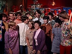 Barbara, David Pearl, Davy Jones, Ric Klein, Candy, Linda, Mike Nesmith, Barbara Hamaker, Brendan Cahill, Marilyn Schlossberg, Peter Tork