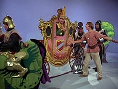 Horseman #1 (Ric Klein), Princess Gwen (Mike Nesmith), Richard (John Lawrence), Peter Tork, Harold (Murray Roman)