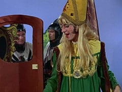 Richard (John Lawrence), Harold (Murray Roman), Princess Gwen (Mike Nesmith)